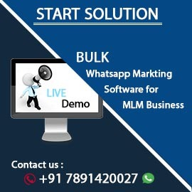 Whatsapp marketing Software Start Solution Bulk SMS Provider