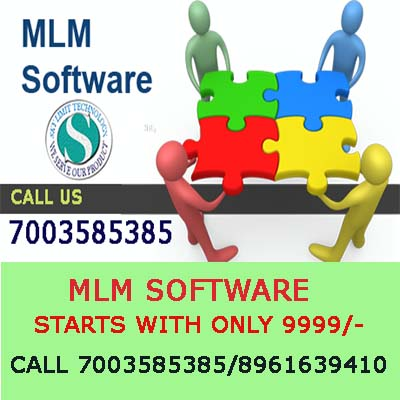 MLM Software Starting at Rs.9999/- Call +91 8961639410