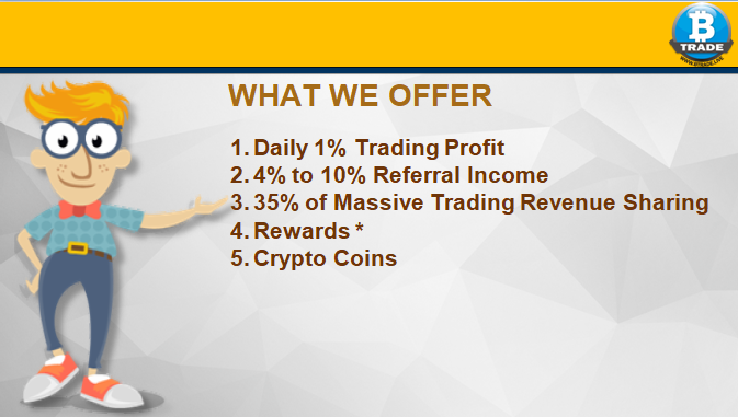 Earn Bitcoin Daily with Btrade.live