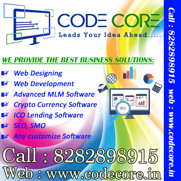 WE DEVELOPS ALL TYPES OF ATTRACTIVE MLM SOFTWARE CALL 8282898915