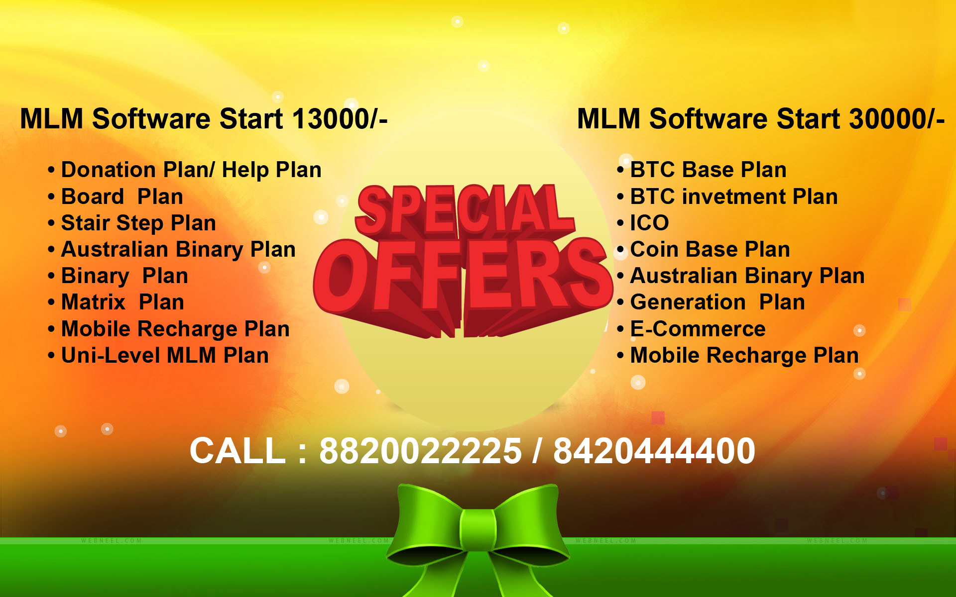 All Types of Website, Coin wallet plan Website & MLM Software Start with Rs.13000 to 50,000/- Only.