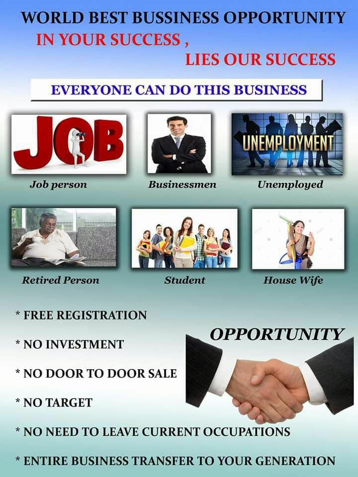 100 % FREE BUSINESS OPTION