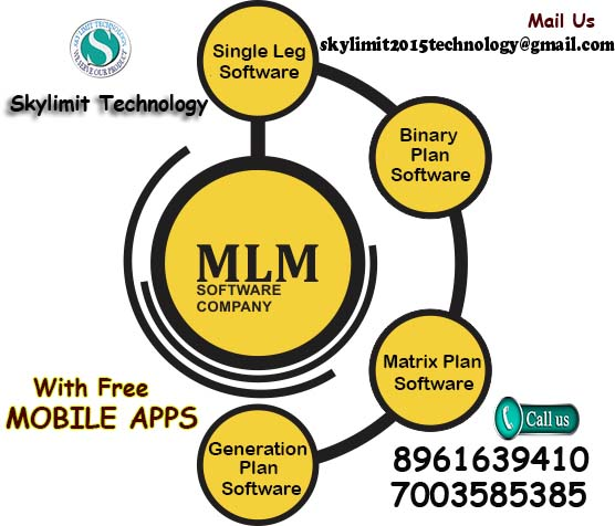 MLM Software Starting at Rs.10000/- Call +91 8961639410