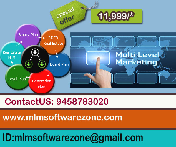 MLM Software development copamny in Rampur Special Offer 11,999/  9458783020