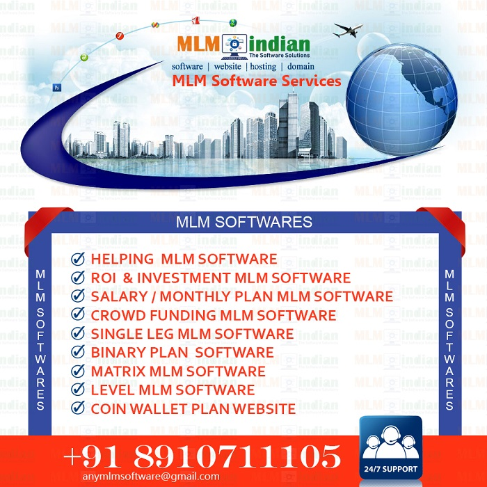 ROI Investment Helping MLM Software Call Demo 8910711105