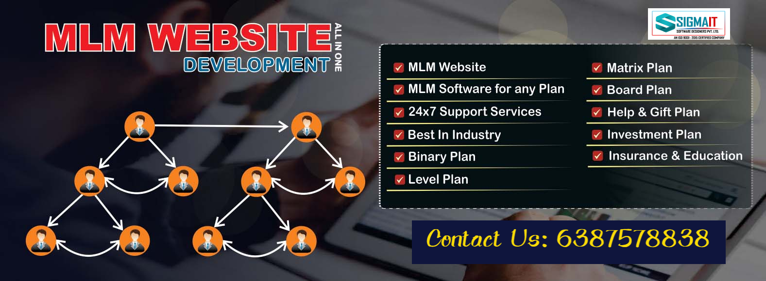 Best MLM Software- Sigma IT Software Company, Lucknow