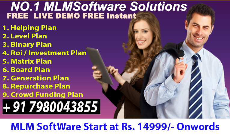 MLM SOFTWARE Call & WhatsApp for demo 7980043855.