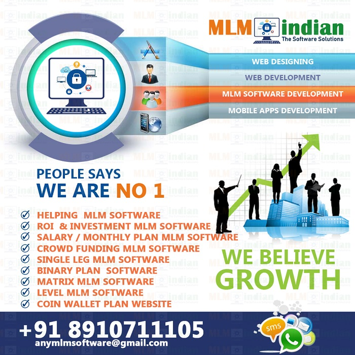 Helping Growth Roi MMM MLM Software  Call Demo 8910711105