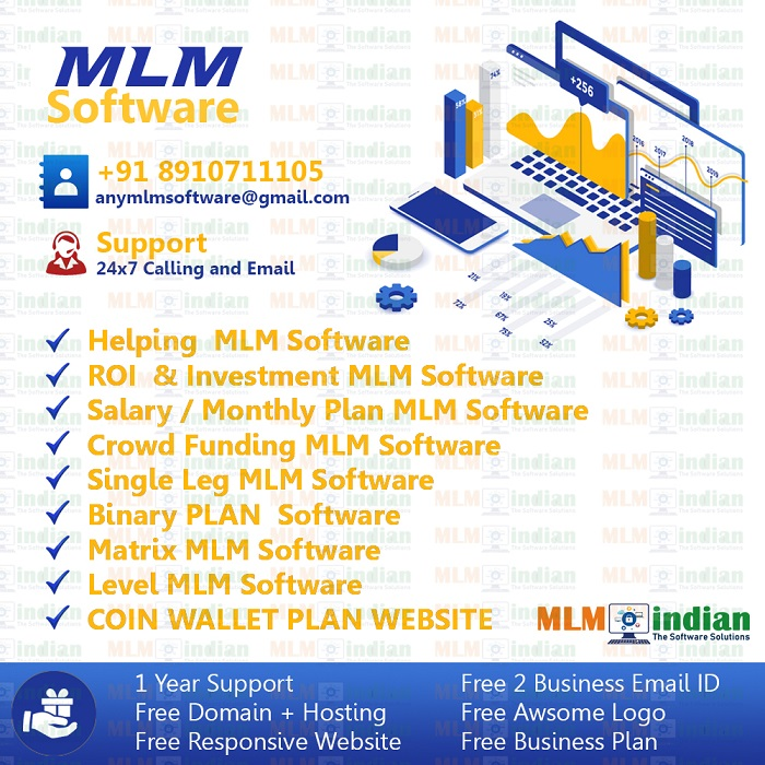 Level Binary helping All Type Of  MLM Software Call Demo 8910711105