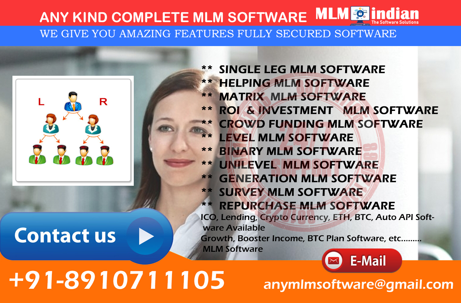 All Type Of MLM Software ROI INVESTMENT  BTC, ETH Auto API Software Available