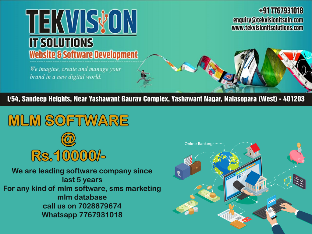 Any mlm software @9999 within 2 days