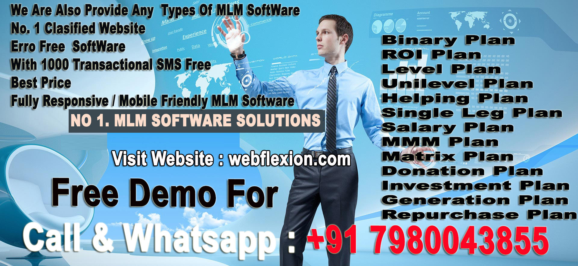 MLM SOFTWARE GENUINE WORK & Best Price. CALL & Whatsaap No: +917980043855
