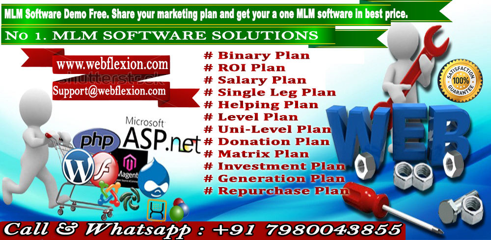 Any Types Of MLM Software.Demo Available Free Call & Whatsaap No: +91 7980043855